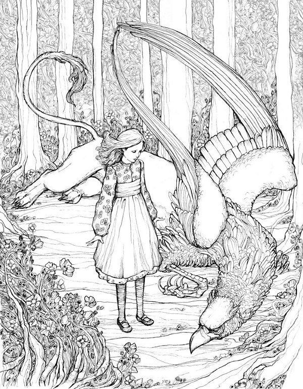 377 best Fairy Tales images on Pinterest | Coloring pages, Coloring ...