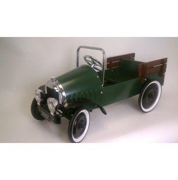 *PEDAL CAR ~ Jalopy Pickup Truck Pedal Car - Green