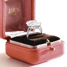 Diamond 'string' ring, JAR, Paris.