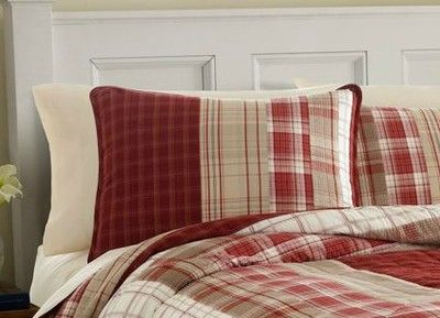 Plaid Bedding Khakis And Bedding On Pinterest