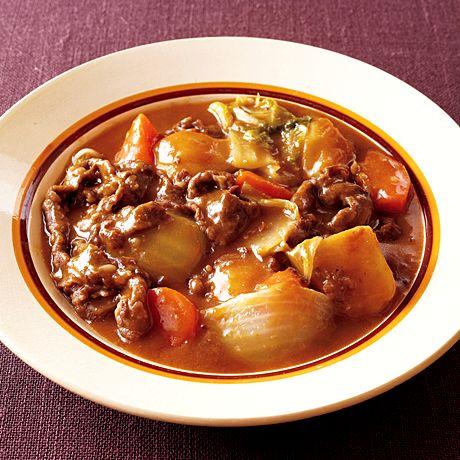 とろけた白菜がおいしい♡白菜ビーフシチュー おしゃれな白菜シチューのレシピ