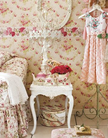 Rose Patterned Home D Cor