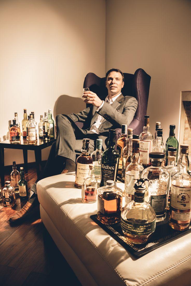 El empresario francés Stephan Lochbühler explica aquí por qué prefiere el whisky antes que cualquier otro trago.