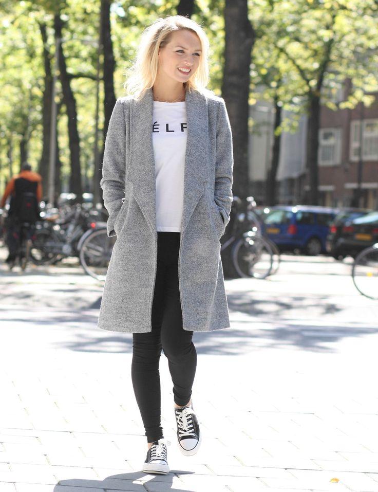 Jas LILIAN Grey - Jassen - Kleding