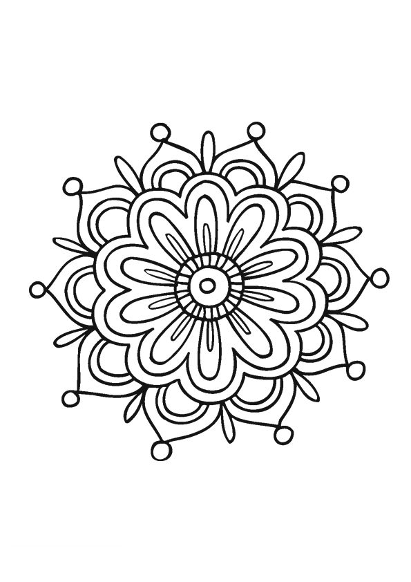 Simple Mandala Design