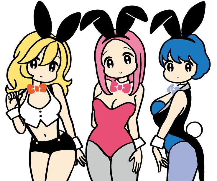 "conix expo ""Bunny girls"""