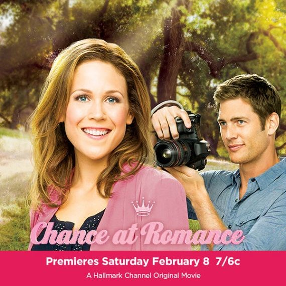 Chance of Romance (2013) Hallmark   Erin Krakow, Ryan McPartin, Ian Andrew, Patricia Richardson  A woman (Erin Krakow) begins an online relationship with a famous photographer (Ryan McPartin), not realizing that she is actually communicating with the man's young son (Ian Andrew).