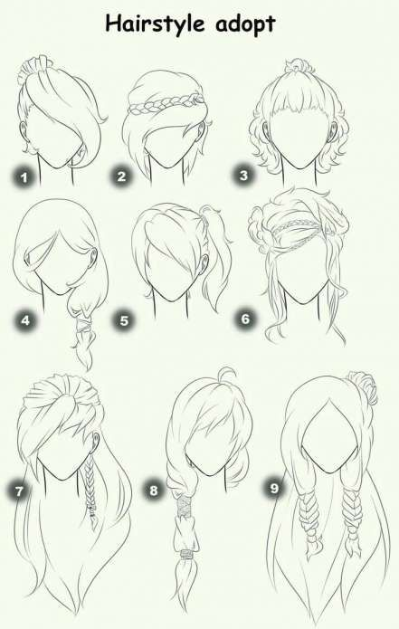 Anime Girl Step By Step Drawing and Anime Girl Drawing Easy At Paintingvalley | Explore