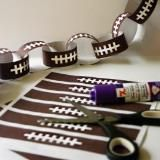 Linked to: snapcreativity.com/football-paper-chain/
