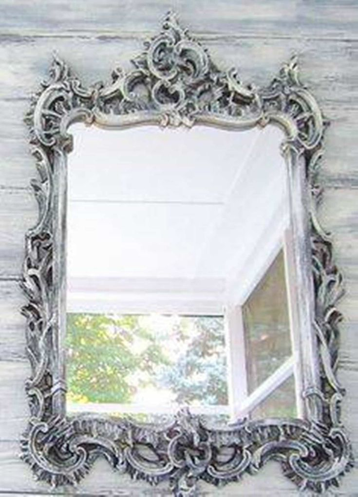 Bathroom , Gothic Bathroom Decor Ideas : Silver Ornate Gothic Bathroom Decor