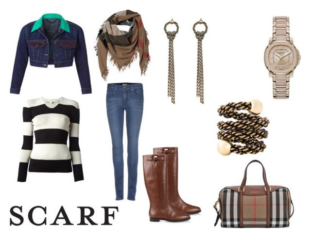 """""""Fall Sacrves"""" by samyangelo on Polyvore featuring moda, Burberry y Lanvin"""