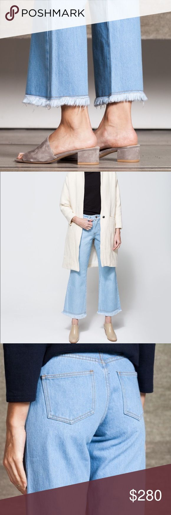 OBJECTS WITHOUT MEANING FLARE JEANS ✨ Everlane Jeans Flare & Wide Leg