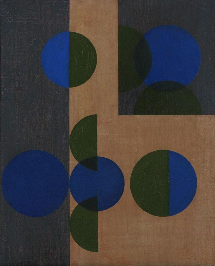 """thirdorgan: """"Eduardo Jonquières (Argentine-France, 1918 - 2000) CIRCULOS Y SEMICIRCULOS 1959 """""""