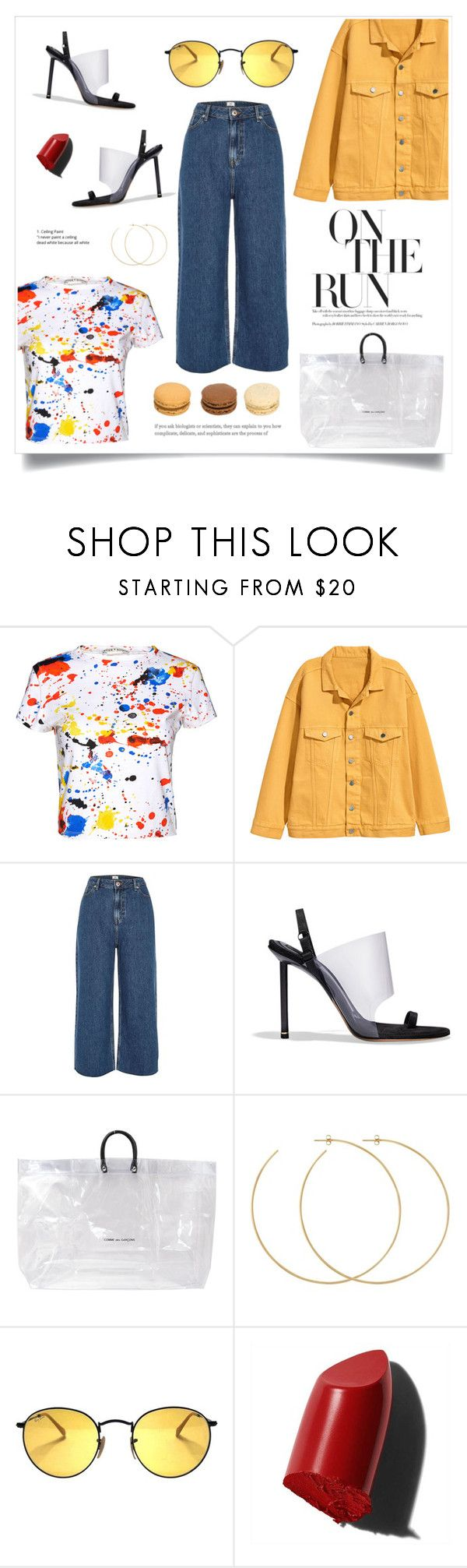 """LOVE"" by fcris7176 ❤ liked on Polyvore featuring Alice + Olivia, River Island, Alexander Wang, Comme des Garçons, Allison Bryan and Bobbi Brown Cosmetics"