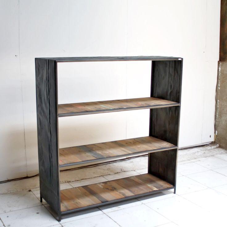 13 best métal et bois images on Pinterest Carpentry, Industrial
