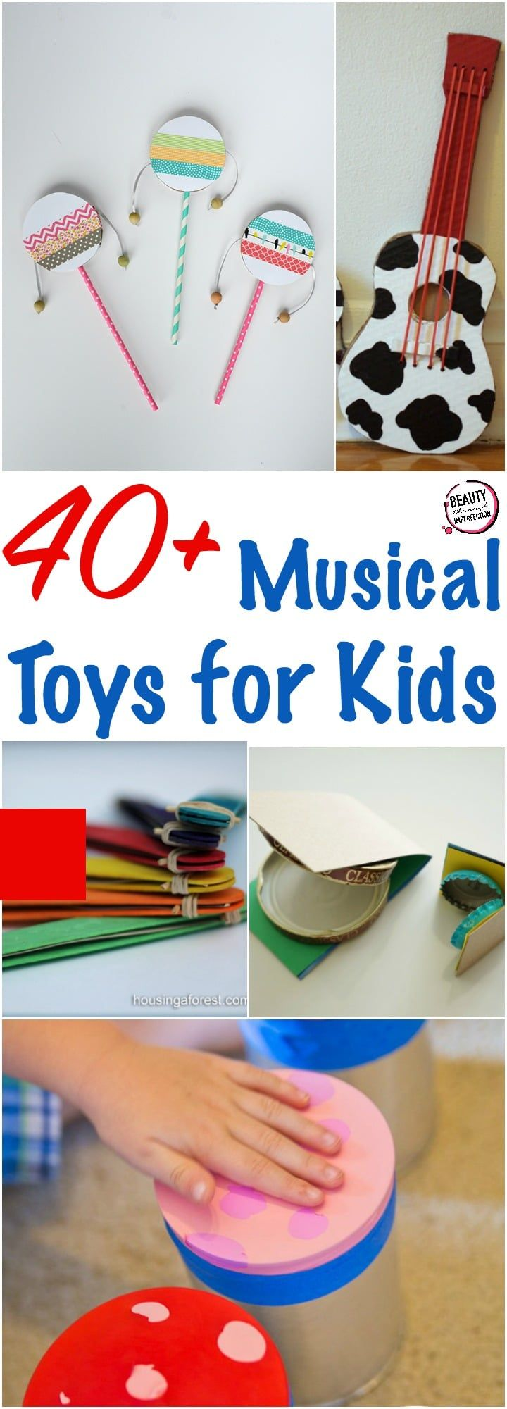 We know how important musical education is for kids, which is why toy musical instruments can be so fun and helpful for them! Here are some of the best musical toys for kids. This post contains affiliate links for your convenience Musical toys Melissa and Doug Band in a Box Electronic guitar shirt (you can...