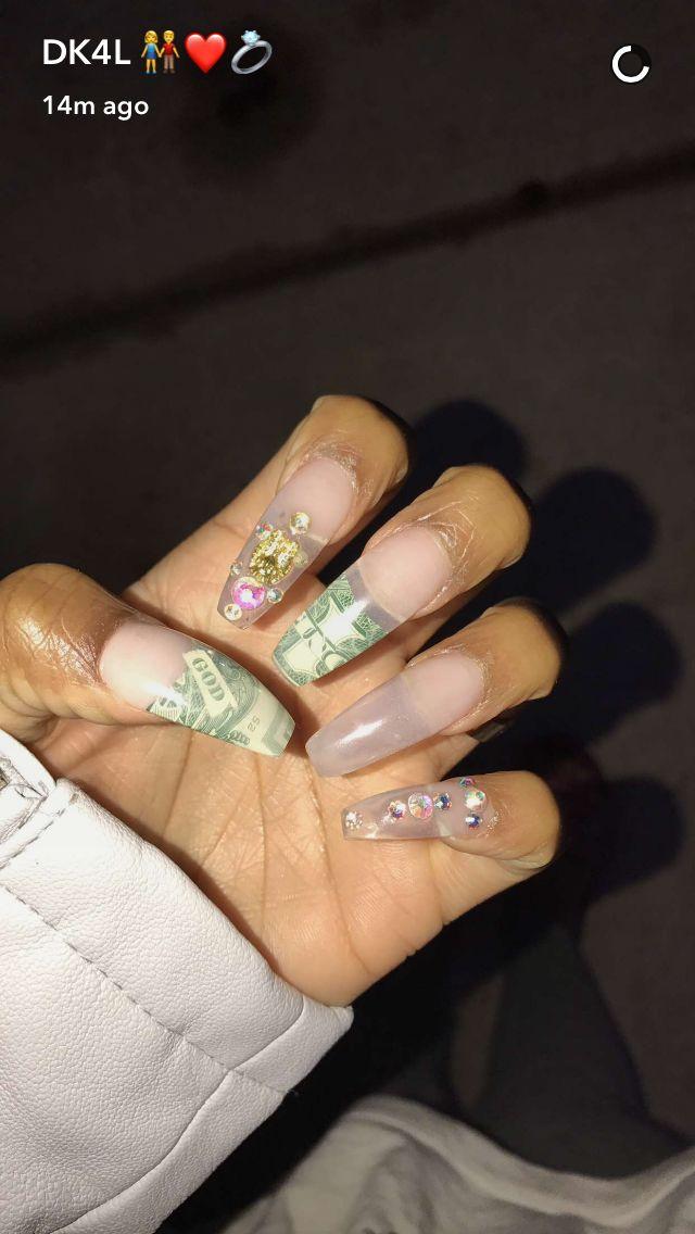 De'arra Nail😻💕💵 | Nails, My nails, Beauty