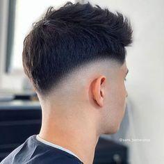 Popular Mens Haircuts, Best Short Haircuts, Cool Haircuts, Haircuts For Men, Cut Hair At Home, Drop Fade Haircut, Shaved Hair Designs, Crop Hair, Men Hair Color