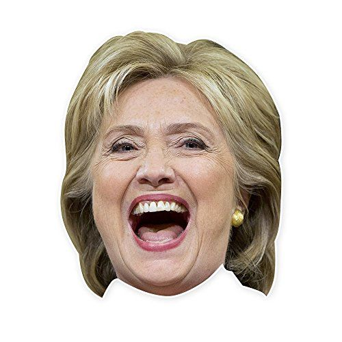 Trump and Clinton Halloween Costumes - Choose Edgy or Funny - Hillary Clinton Mask by RapMasks - 15