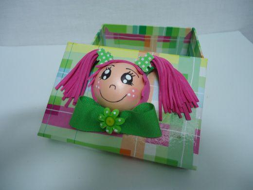 Caja personalizada de goma eva cajas de goma eva for Cajas personalizadas con fotos