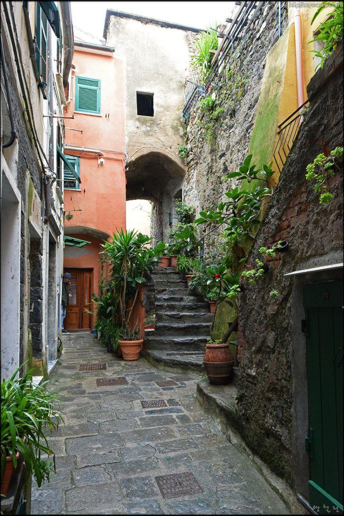 친퀘테레 경사마을 베르나짜 Bernazza, Cinque Terre - Italia