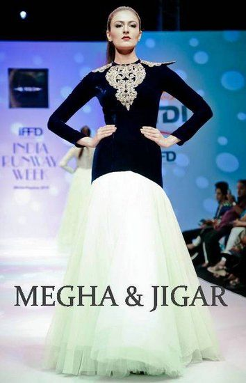 Wedding Cocktail Gowns - Megha and Jigar Info & Review | Bridal / Trousseau Designers in Delhi | WedMeGood #wedmegood #cocktail #gowns