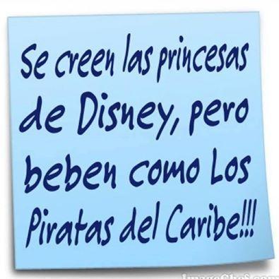"""""""Se creen las princesas de #Disney, pero..."""" ¡Cuánta verdad!"""