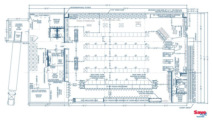 Grocery Store Floor Plan Layouts L