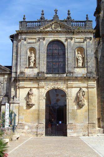 Verdelais Basilique Notre-Dame, façade