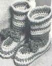 Free Crochet Pattern - Striped Boots