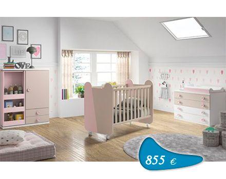 Ofertas de mobiliario juvenil en madrid completo con cuna cambiador y armario colchon cuna y - Cambiador de bb ...