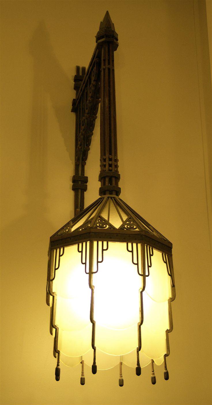 24 best ART DECO Hanging Lamps images on Pinterest | Art deco art ...