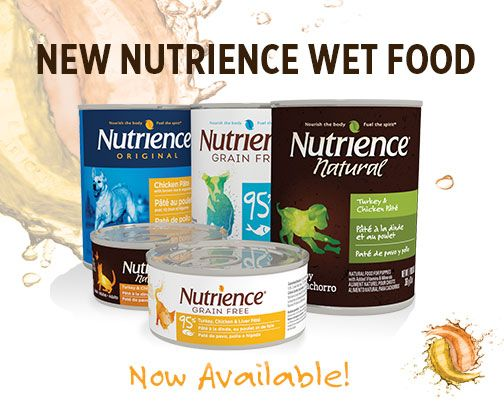 Turkey And Chicken Wet Food For Cats Nutrience Natural