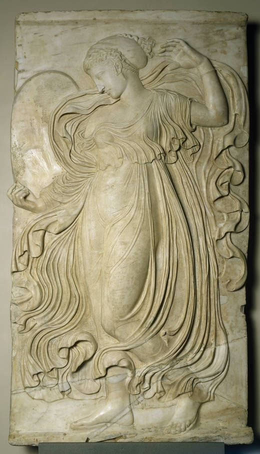 The Dance of the Maenads (one of four reliefs), Roman copy of Greek original, c. 120 - 140, marble, @museodelprado, Madrid #dance