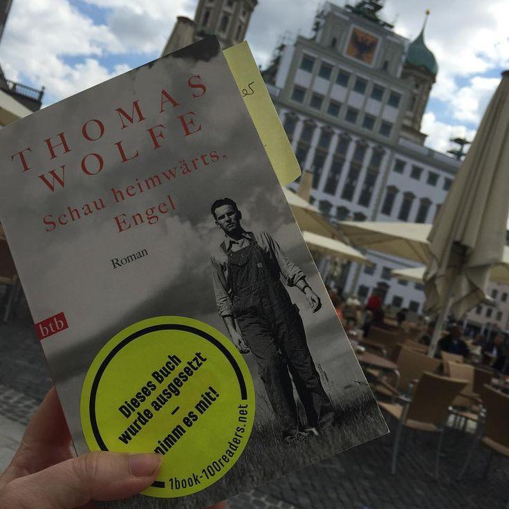 Epic Wieder Donnerstag wieder Rathausplatz in augsburg Thomas Wolfe Schau heimw rts Engel