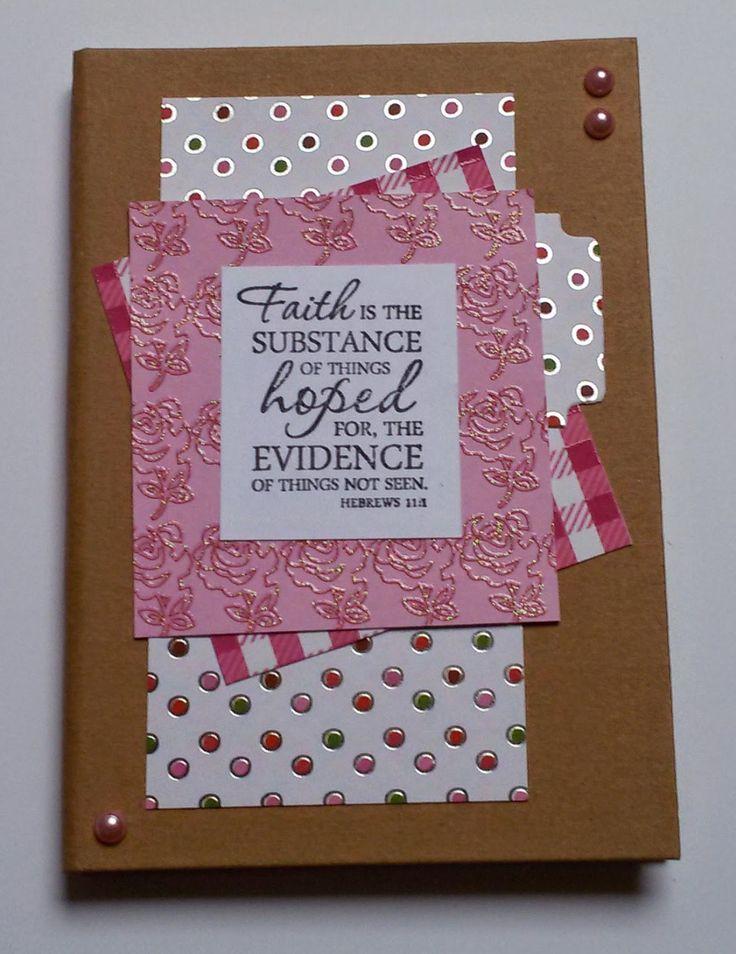 Moostly Cards & Crochet: Notitieboekje pimpen #1