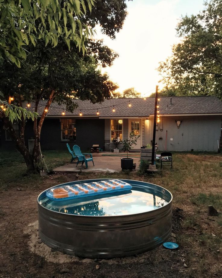 Best 25 stock tank pool ideas on pinterest for Nice small pools