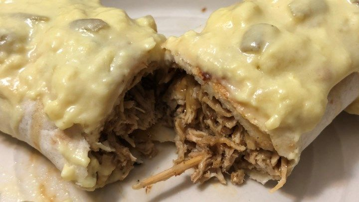 Chicken Chimichangas With Sour Cream Sauce Photos Allrecipes Com Sour Cream Sauce Cream Sauce Sour Cream