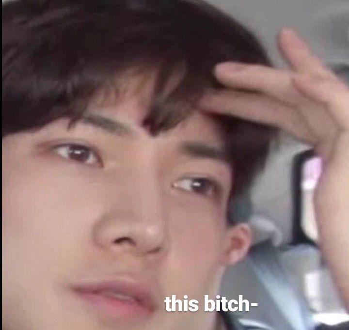 Ateez Yeosang Meme Kpop Memes Funny Kpop Memes Meme Faces