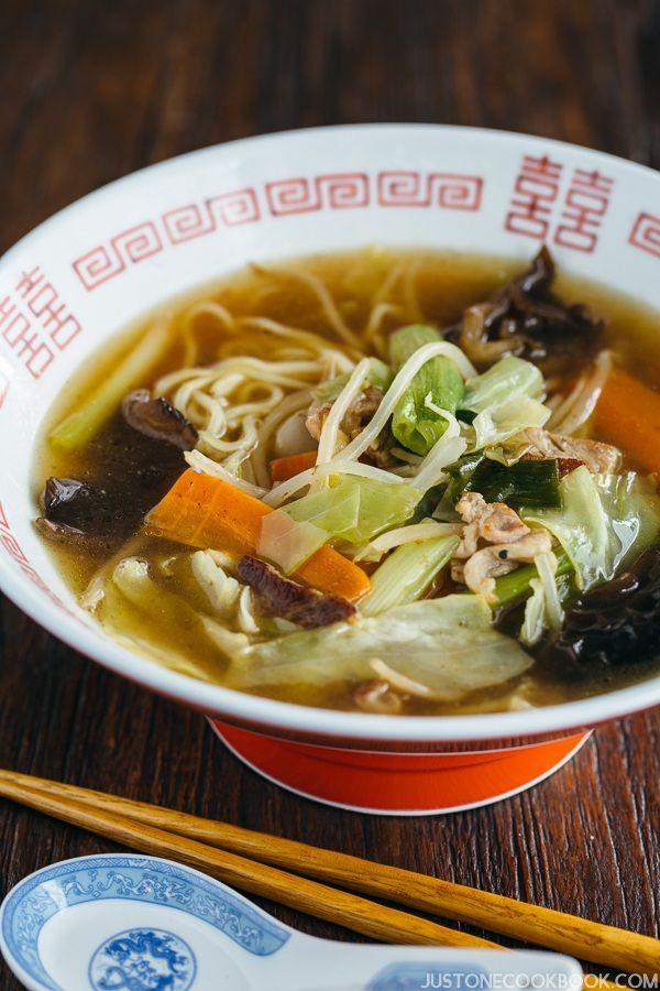 Tan-Men タンメン | Easy Japanese Recipes at JustOneCookbook.com