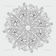 snowflake mandala tattoo designs - Google Search