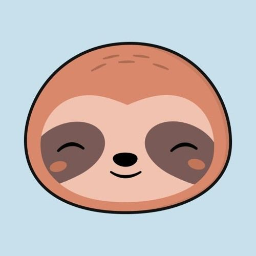 I Will Be Me Attempt 2 By Vicky Sloth Art Cute Animal Drawings Sloth Drawing