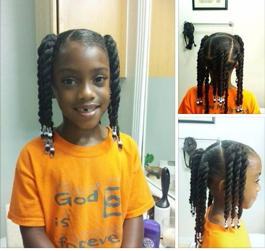 Swell 1000 Images About Little Black Girl Hairstyles On Pinterest Hairstyles For Women Draintrainus