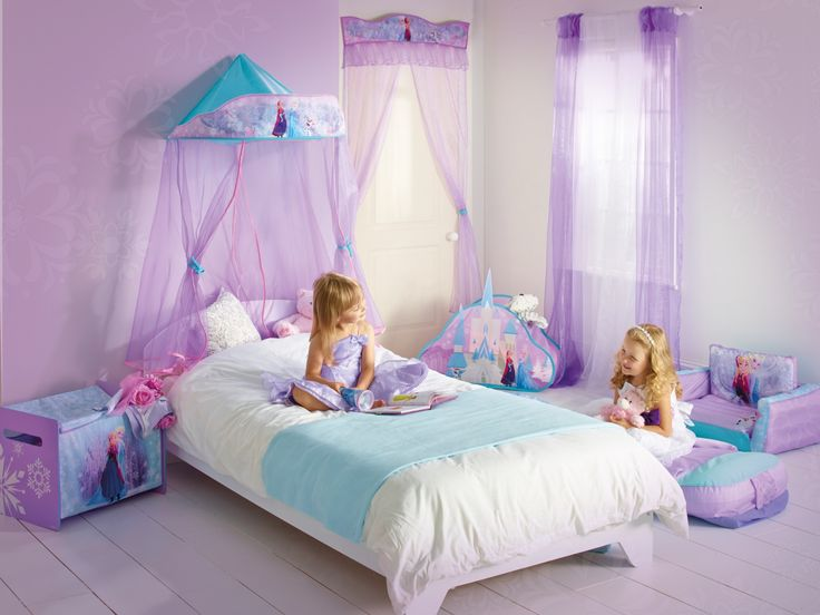 frozen room ideas to enhance the performance of your kids bedroom