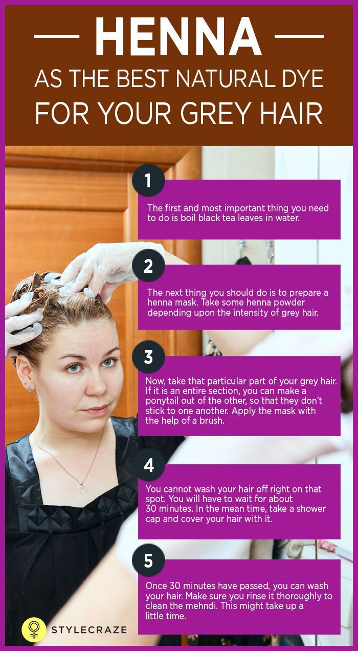 5 Basic Steps To Apply Henna For Grey Hair | Natural Hair Care ...