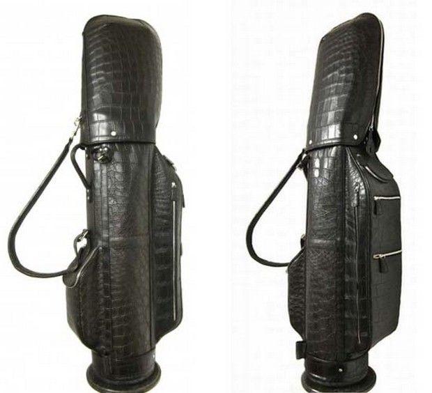 Treccani Milano's custom golf leather bags and purses