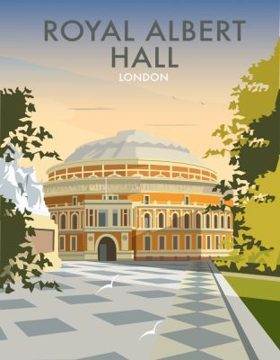 "London Royal Albert Hall This ""Albert Hall"" photographic art print is created using state of the art, industry leading Digital printers. The result - a stunning reproduction at an affordable price."