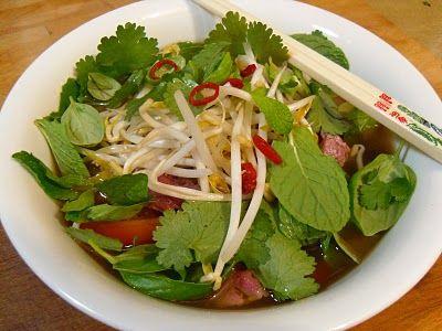 Vietnamese Beef and Lemongrass Soup