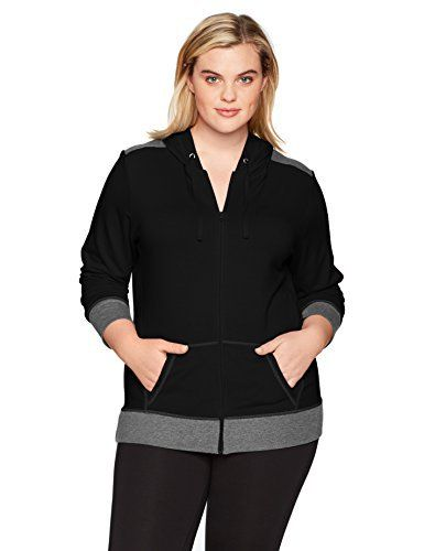 d6be838d470 Product review for Just My Size Women s Plus Size Active French Terry  Full-Zip Hoodie. - Performance that feels better. Jms active