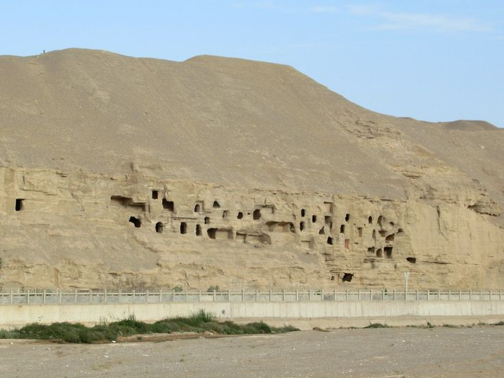 Some of the earliest Buddhist temples in China dating back to 366 AD are at the Mogao Caves southeast of Dunhuang, Gansu. The site developed over a millennium through 11 dynasties.